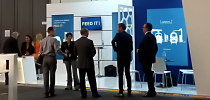 Stand Railshine during the InnoTrans 2016 fair at Berlin