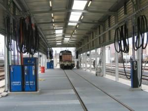 Railshine proposes train fueling solution.