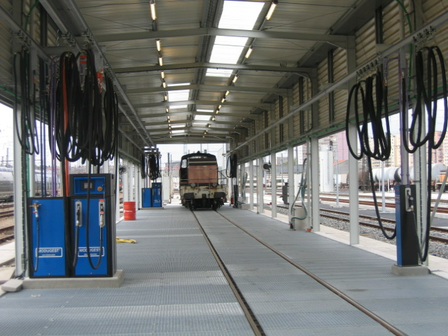 Locomotive Fuelling Service Station Railshine
