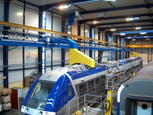 Railshine proposes tailor-made locomotive exhaust extraction systems for maintenance depots.