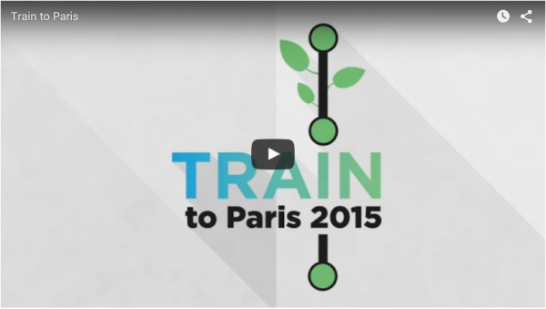 Railshine soutien Train to Paris 2015